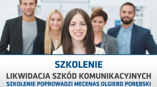 SZKOLENIE: Likwidacja szkód komunikacyjnych 08.02.2017 r. Warszawa